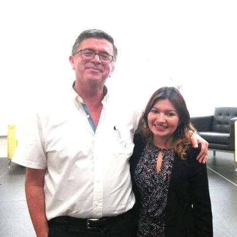 Compartí el escenario con William Pleites, Director Ejecutivo de FOMILENIO II